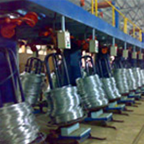 Hot Dip Galvanized Wire Plant